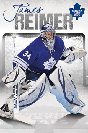 Toronto Maple Leafs James Reimer Poster