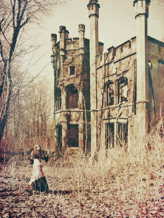 The Castle Metal Print by Anna Mutwil
