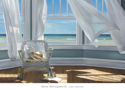 Gentle Reader Print by Karen Hollingsworth