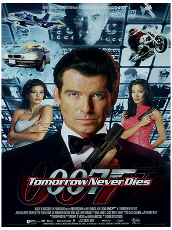 James Bond (Tomorrow Never Dies One-Sheet) Movie Poster Print Masterprint