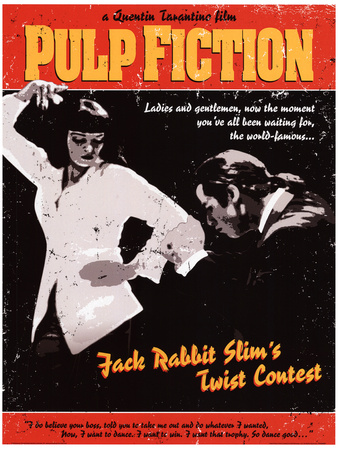 Pulp Fiction - Twist Contest Movie Poster Masterprint