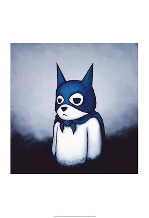 Bat Bear Prints by Luke Chueh