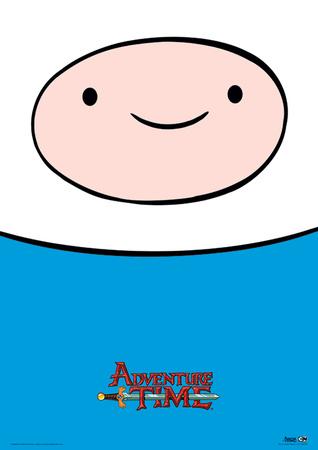Adventure Time - Finn Television Poster Masterprint