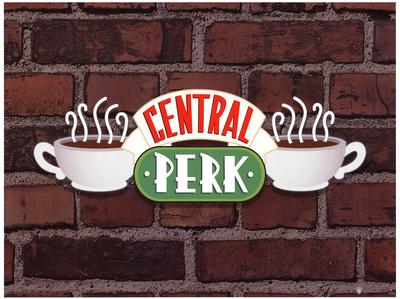 Friends (Central Perk Sign) Television Poster Masterprint