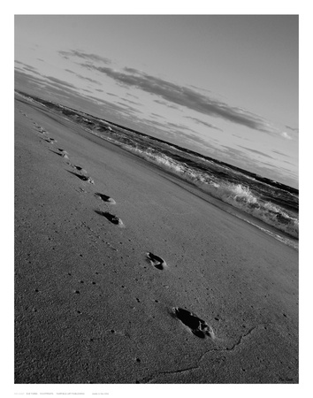 Footprints Posters by Eve Turek