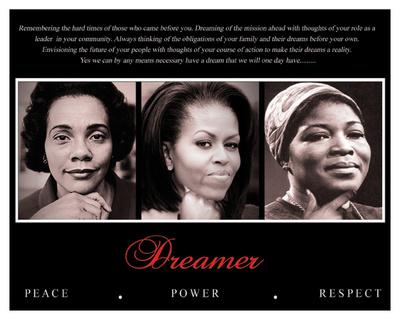 Dreamer (Trio): Peace, Power, Respect Art