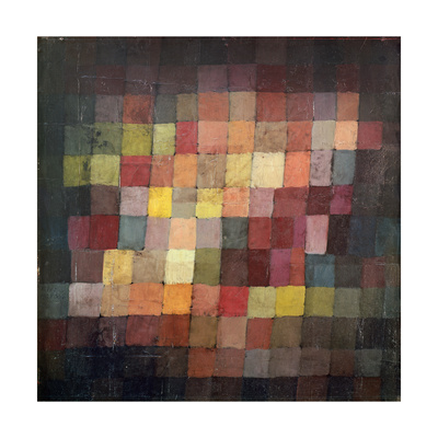 Ancient Harmony, c.1925 Print by Paul Klee