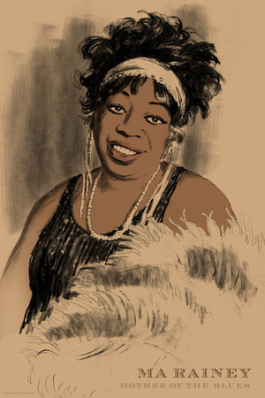 Ma Rainey Posters by Clifford Faust