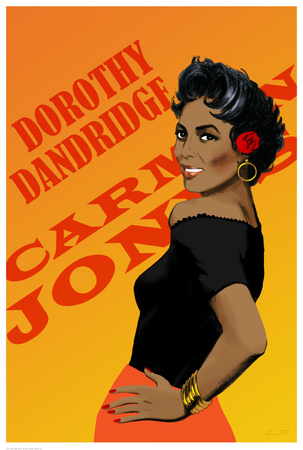 Dorothy Dandridge Prints by Clifford Faust