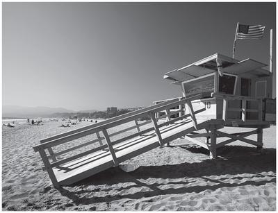 California Lifeguard Stand Prints