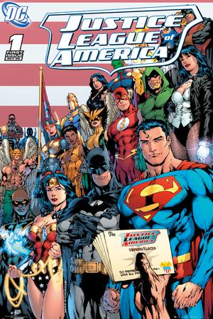 DC Comics - Justice League Cover Prints