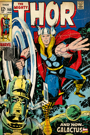 The Mighty Thor Marvel Comics Cover