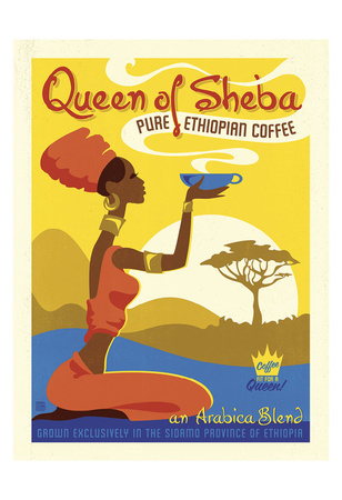 Queen of Sheba Poster by  Anderson Design Group