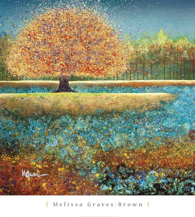 Jewel River Prints by Melissa Graves-Brown