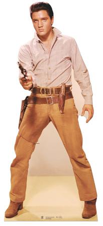 Elvis - Gunfight Stand Up Figura de cartón