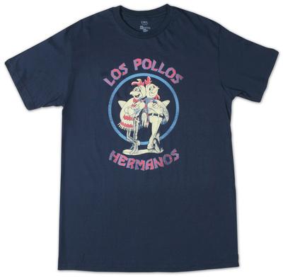 Breaking Bad - Los Pollos Hermano Navy T-シャツ