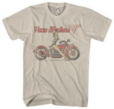 Van Halen - Biker Pin Up Shirts
