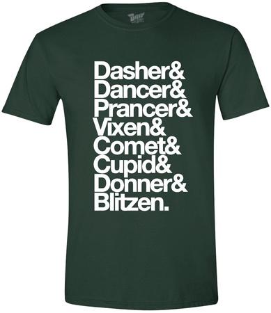 Reindeer List Shirts