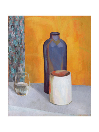 Still Life with a Blue Bottle, 1917 Giclee Print by Roger Eliot Fry