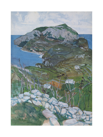 Capri, c.1904 Giclee Print by Maurice Greiffenhagen