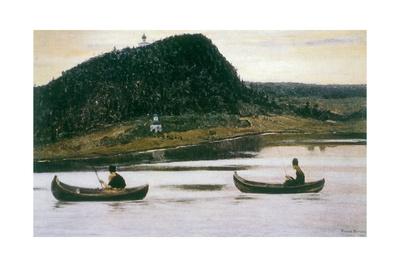 Silence, 1903 Giclee Print by Mikhail Vasilievich Nesterov