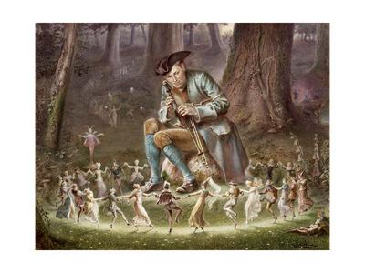 Fairy Dance, 1882 Giclee Print by William Holmes Sullivan