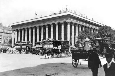 The Bourse, Paris, c.1900 Photographic Print by  Gaillard