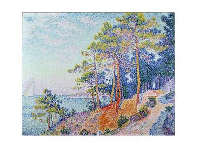 St. Tropez, the Custom's Path, 1905 Giclee Print by Paul Signac