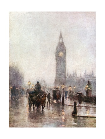 Westminster Giclee Print by Rose Maynard Barton