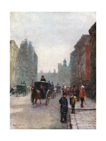 St James's Street: Levee Day Giclee Print by Rose Maynard Barton