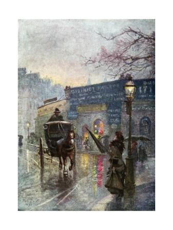 South Kensington Station Giclee Print by Rose Maynard Barton