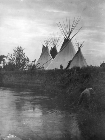 Beyond the Little Bighorn, 1908 Photographic Print by Richard Throssel