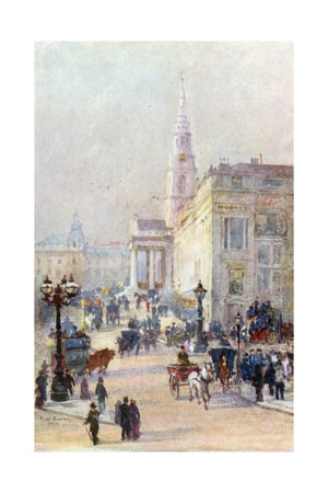 St Martin's-In-The-Fields Giclee Print by Rose Maynard Barton