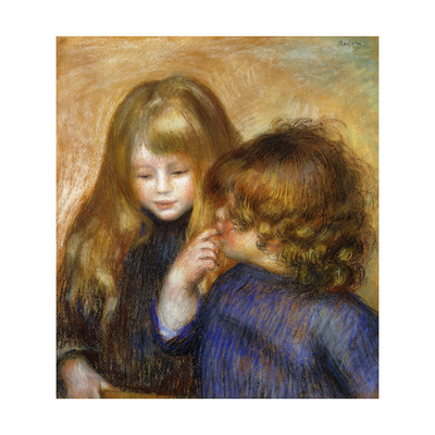 Jean and Coco; Jean et Coco, c.1902 Giclee Print by Pierre-Auguste Renoir