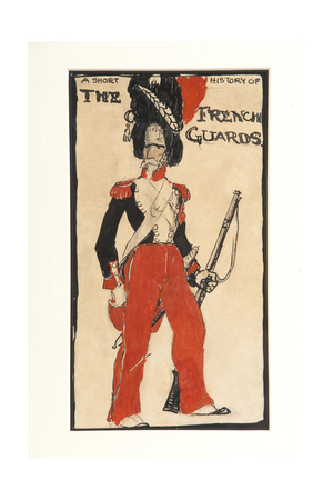 A Short History of the French Guards, 1917 Giclee Print by Claud Lovat Fraser