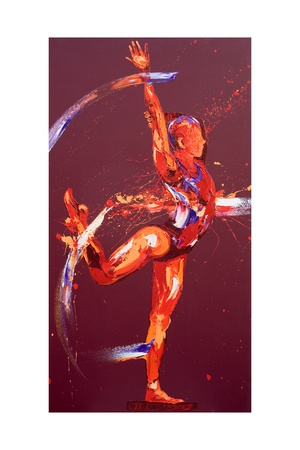 Gymnast Nine, 2011 Giclee Print by Penny Warden