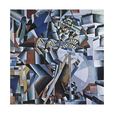 The Knife Grinder, 1912-13 Giclee Print by Kasimir Malevich