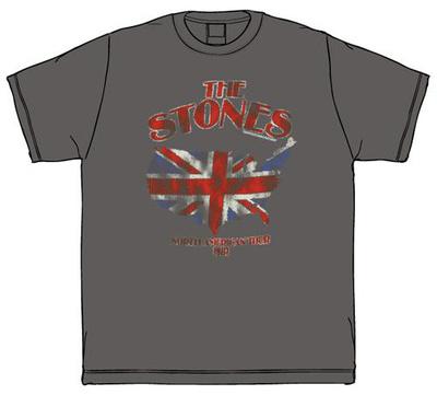 The Rolling Stones - Union Jack U.S. Map '81 T-Shirts