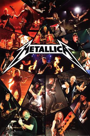 Metallica - Live Plakater