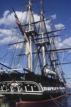 """USS Constitution """"Old Ironsides"""" Docked in Boston Photographic Print"""
