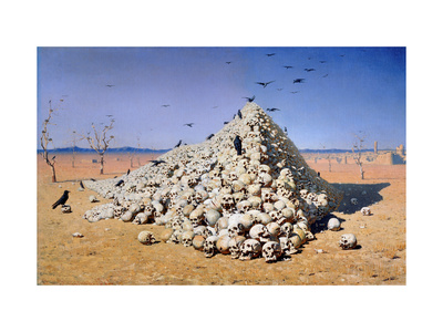 Apotheosis of the War Giclee Print by Vasili Vasilyevich Vereshchagin