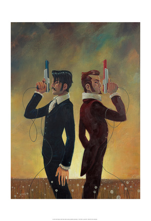 The Duel Prints by Aaron Jasinski