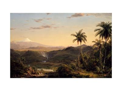 Cotopaxi Giclée-Druck von Frederic Edwin Church