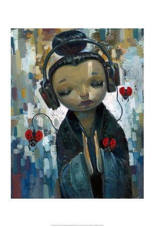 She Had her Sources Prints by Aaron Jasinski