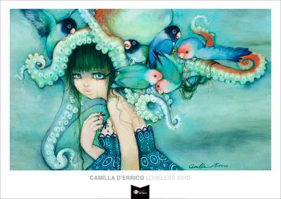 Loveless Bird Posters by Camilla D'Errico