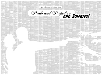Pride and Prejudice and Zombies By Seth Grahame-Smith Full Book text Poster Prints