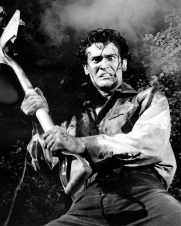 Bruce Campbell, Evil Dead II (1987) Photo