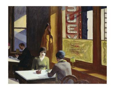 Chop Suey, 1929 Prints by Edward Hopper