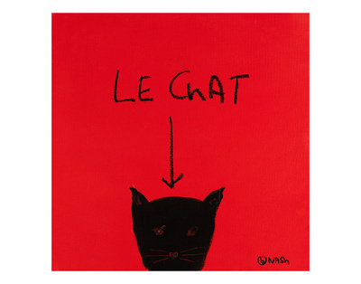 Le Chat Prints by Brian Nash