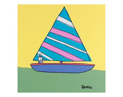 Sailboat Posters by Brian Nash